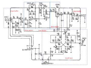 SD1 annotated schematic