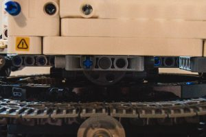 Close-up for the turret