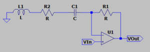 Traditional bandpass schematic
